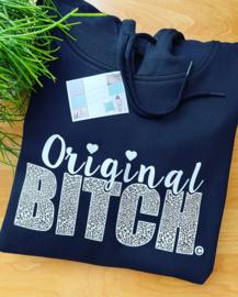 Originaliteit bitch hoodie