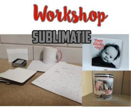 Workshop sublimatie vanuit studio 15 februari (middag)