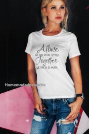 Tshirt Alone