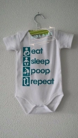 Romper Eat Sleep Poop