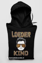 Loeder kind  hoodie extra
