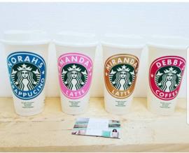 Starbucks beker groen logo