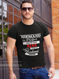 Niemand is perfect supporter