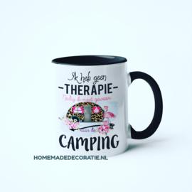 Camping beker tiger