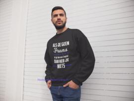 Sweater als je geen.... heren