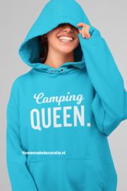 Camping queen   hoodie