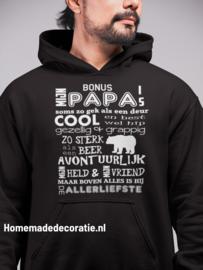 PAPA/ OPA BONUS PAPA HOODIE