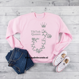 Sweater tik tok queen