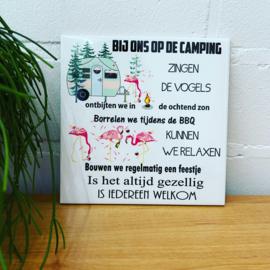 Camping tegel