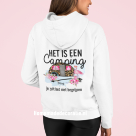 Camping ding   zoodie/vest dames full