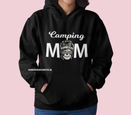 Camping mom skull