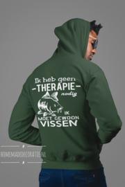 Karper hoodie Therapie vissen