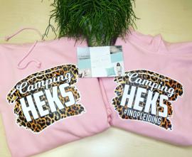 Camping heks moeder dochter set  hoodie tijger
