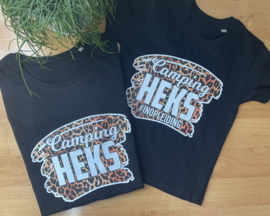 Camping heks  set met kinder /  baby shirt in opleiding