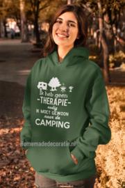 Camping hoody dames/heren