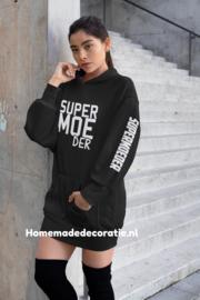 Hoodie dress supermoeder