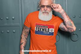 foxwild T-shirt oranje shirt