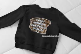 sweater  onhandelbaar heks tijger meisjes