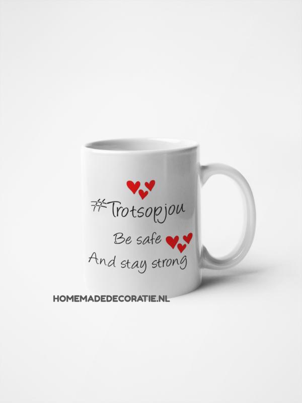 Trots op jou be safe