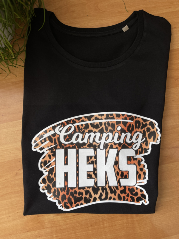 Camping heks tijger tshirt
