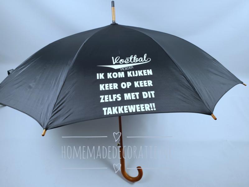 paraplu voetbal zwart
