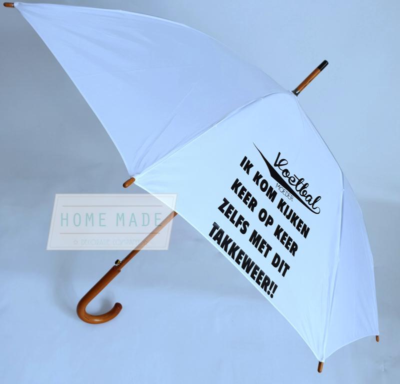 paraplu voetbal