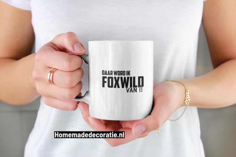 Foxwild beker