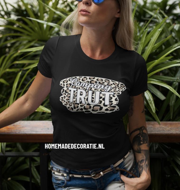 Camping TRUT   tshirt