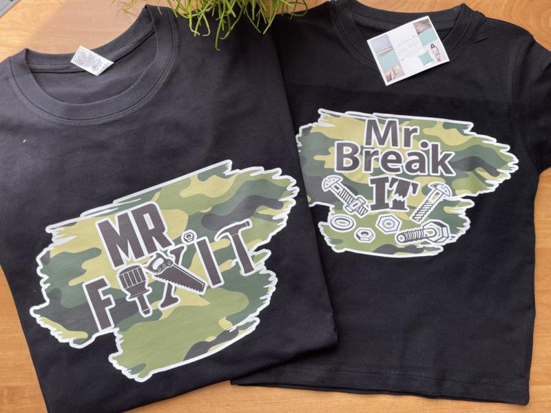 Mr Fixit & Mr break it  set