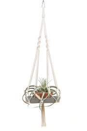 macrame hanger cotton #0301