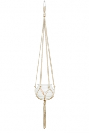 macrame hanger hemp #0201