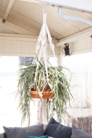 macrame hanger cotton #0601