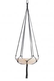 macrame hanger black #0501