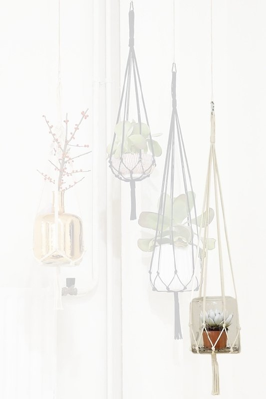macrame hanger cotton #0401