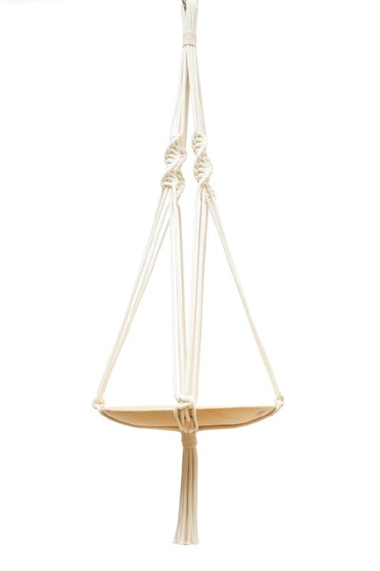 macrame hanger katoen #0502