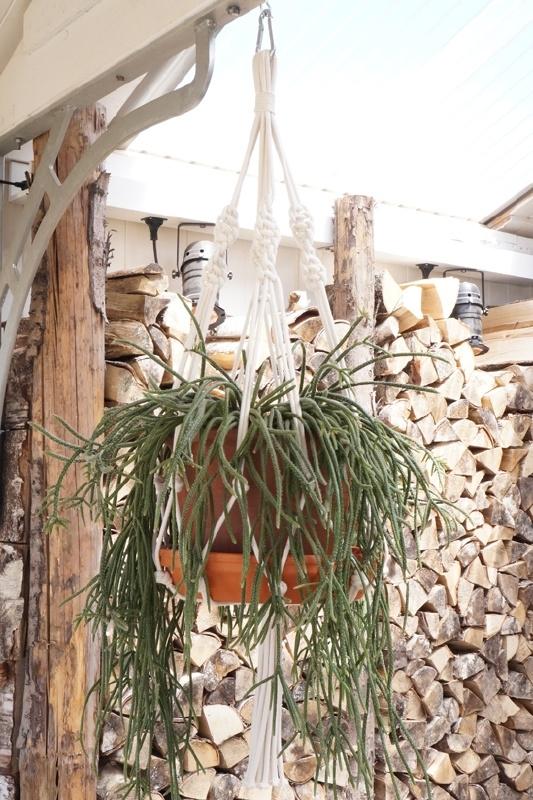 macrame hanger cotton #0601
