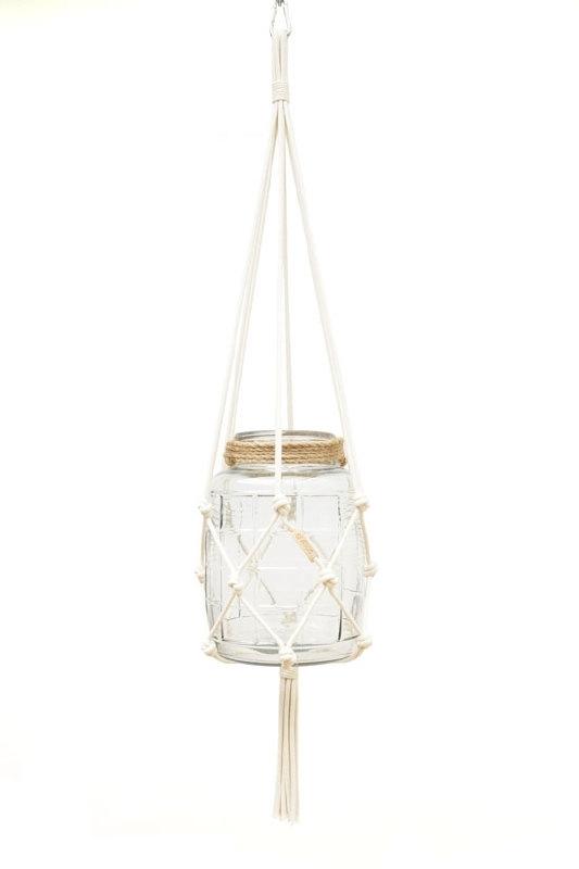 macrame hanger cotton #0501