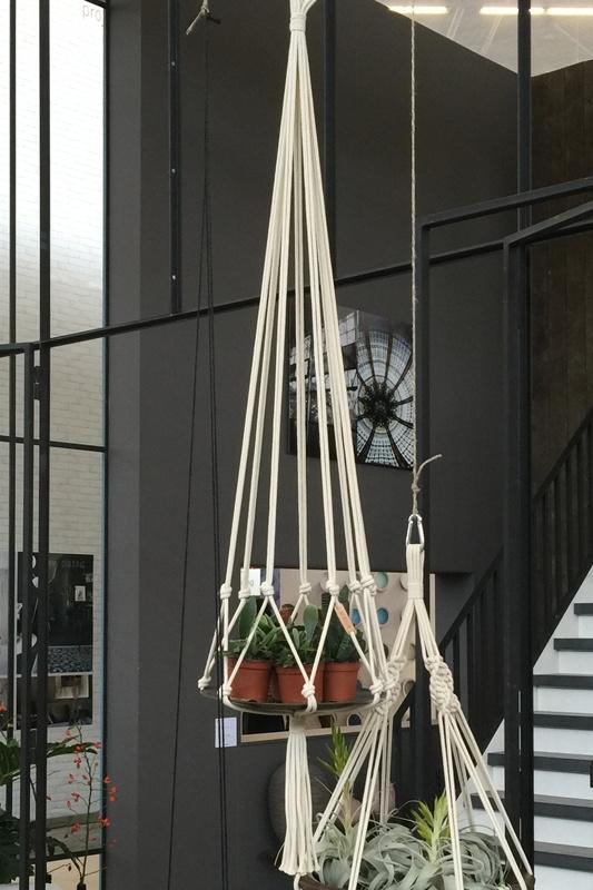 macrame hanger katoen #0701