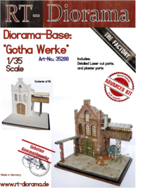 """RT35288 1:35 RT-Diorama Diorama-Base: """"Gohta Werke"""""""
