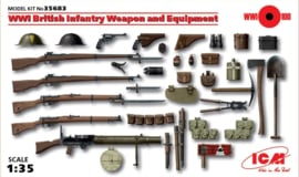 ICM35683 1:35 ICM  WWI British Infantry Weapon and Equipment