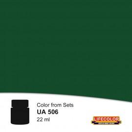 UA506 LifeColor Olivgrun rlm 80 FS34096 (22ml) (from CS06 set)