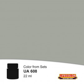 UA608 	LifeColor Schlickgrau 58 (22ml) FS36152 Part of CS12