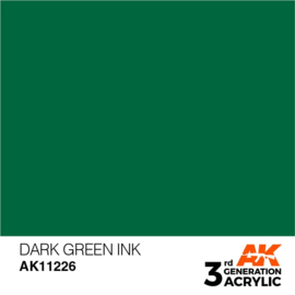AK11226 DARK GREEN – INK
