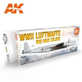 AK11717 3rd Gen WWII LUFTWAFFE MID-WAR COLORS