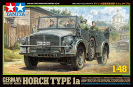 TA32586 1:48 Tamiya German Transport Vehicle Horch Type 1a