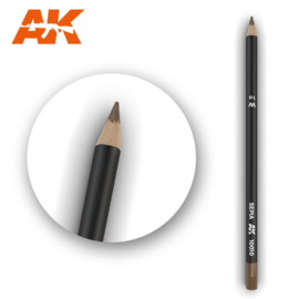 AK10010 Single Pencil Sepia