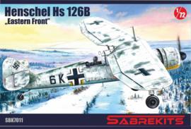 """SBK7011 1:72 Sabrkits Henschel HS 126B """"Eastern Front"""""""