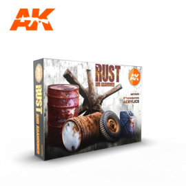 AK11605 3rd Gen Rust and Abandoned Set