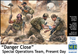 "MB35207 1:35 Masterbox  ""Danger Close"" Special Operations Team, Present Day"