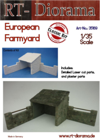 RT35169 1:35 RT-Diorama European Farmyard